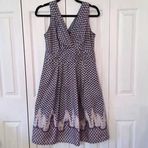 {NANETTE LEPORE} 100% Silk Midi Dress 6